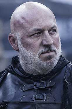 Dominic Carter as Janos Slynt in the HBO Series Game of Thrones